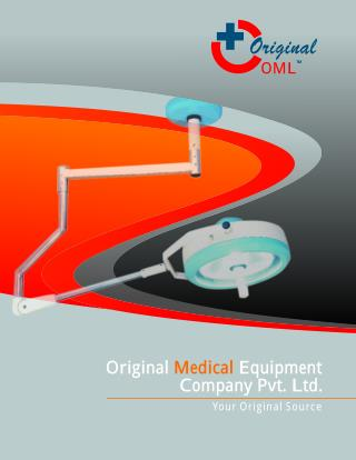 Original_Medical Manufacturers Supplier of O.T. Equipments