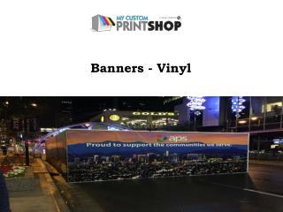 Banners - Vinyl