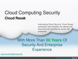 cloud security compliance