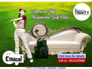 Urbainia Trinity NX Greater Noida West 9212137000 Indepedent Residential Golf Villas