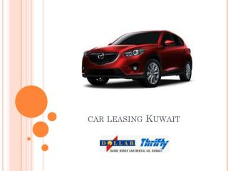 Car leasing kuwait - DollarThrifty