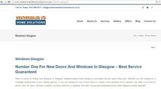 Find out a wide range of doors in Glasgow!