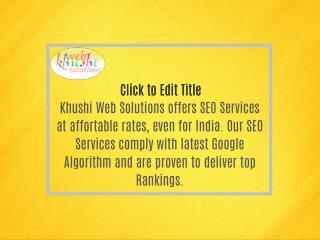 SEO Services Company in Delhi, Internet Marketing, SEO Plans