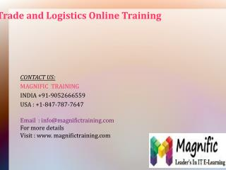 Microsoft Dynamics AX Trade And Logistics Online Training in Canada