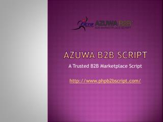 Easy To Use Features Of PHP B2B Script Developed By Eicra Soft