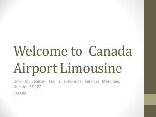Toronto Limousine Services Airport