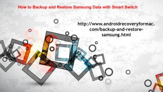 How to Backup and Restore Samsung Data with Smart Switch