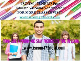 ISCOM 472 NERD Peer Educator/iscom472nerddotcom