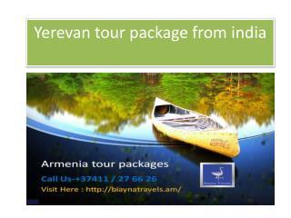 Armenia tour operator @ 37411 / 27 66 26
