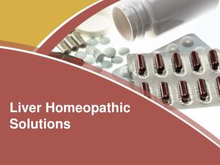 Liver Homeopathic Solutions