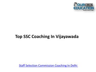 Top SSC Coaching In Vijayawada