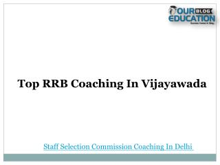 Top rrb coaching in vijayawada