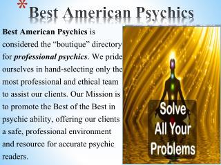 Online Best Psychics Readings – Best American Psychics