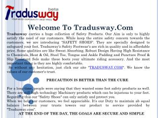 Safety Shoes on Tradusway in Affordable Price