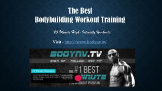 Bodybuilding Workout Training Videos
