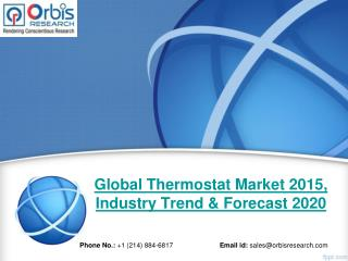 Global Thermostat  Industry 2015-2020 & Market Overview Analysis