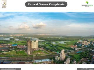 Runwal Greens Reviews