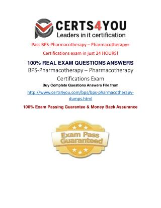 Where i can get the latest exam questions of BPS?