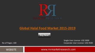 Halal Food Market Global Forecasts for 2015 – 2019