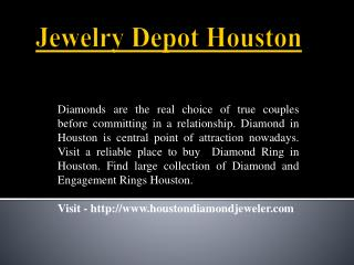 Amazing Range of Engagement Rings In Houston