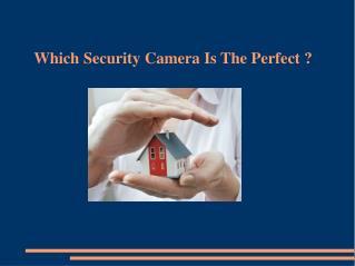 IP Camera Vs Analog Camera