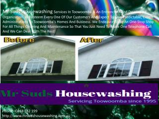 Mr Suds House Washing Services Toowoomba