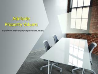 Hire Certified Valuers With Adelaide Property Valuers