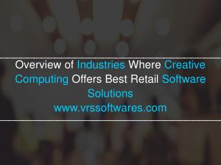 VRS Retail Software for your Big or Small Business