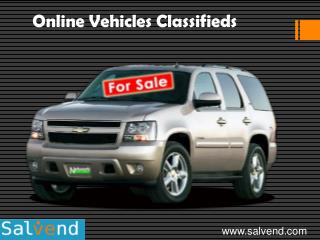 Online Vehicles Classifieds