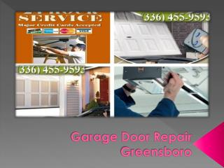 Garage Door Repair - Problems and Fixes