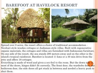 Barefoot At Havelock Resort