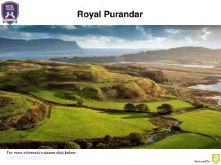 Royal Purandar - Plots for Sale Near Pune
