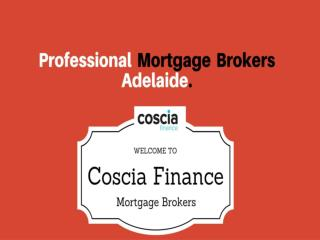 Professional Mortgage Brokers Adelaide