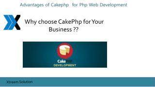 Benefits of Cakephp Development