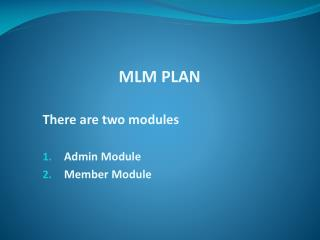 Career Plan MLM Software, Sunflower Plan MLM Software, Generation Plan MLM Software