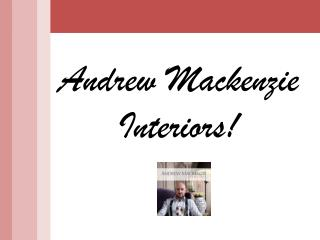 Corporate Interior Designers - Andrew Mackenzie
