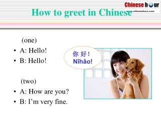 Online Chinese Tutor