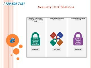 Security Certifications Master Combo Pack