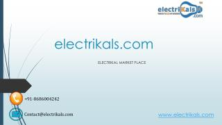 PLEASURE ON electrical products | electrikals.com