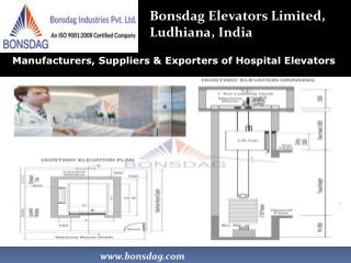 Hospital Elevator Manufacturers in India