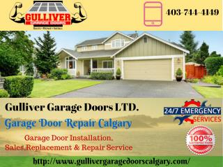 Garage Door Maintenance Tips by Garage Door Repair Calgary