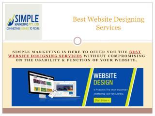 Best Website Designing Services