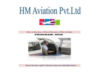 How to become a pilot? A dream comes true with HM Aviation