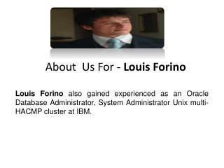 Louis Forino