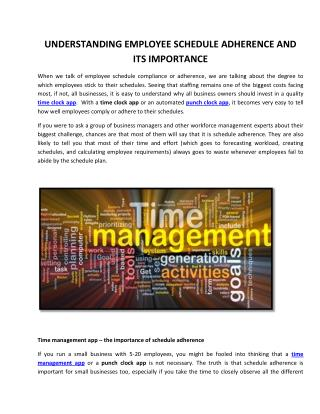 Understanding Employee Schedule Adherence And Its Importance
