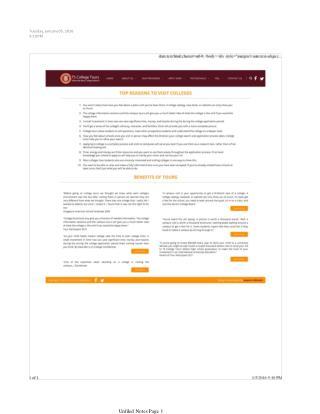 Benefits Of Choosing The College Visit Programs