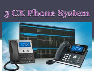 3CX Phone Systems iPhone and Android