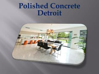 Polished Concrete Detroit