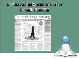 Dr. Uday Salunkhe On The Art of Design Thinking